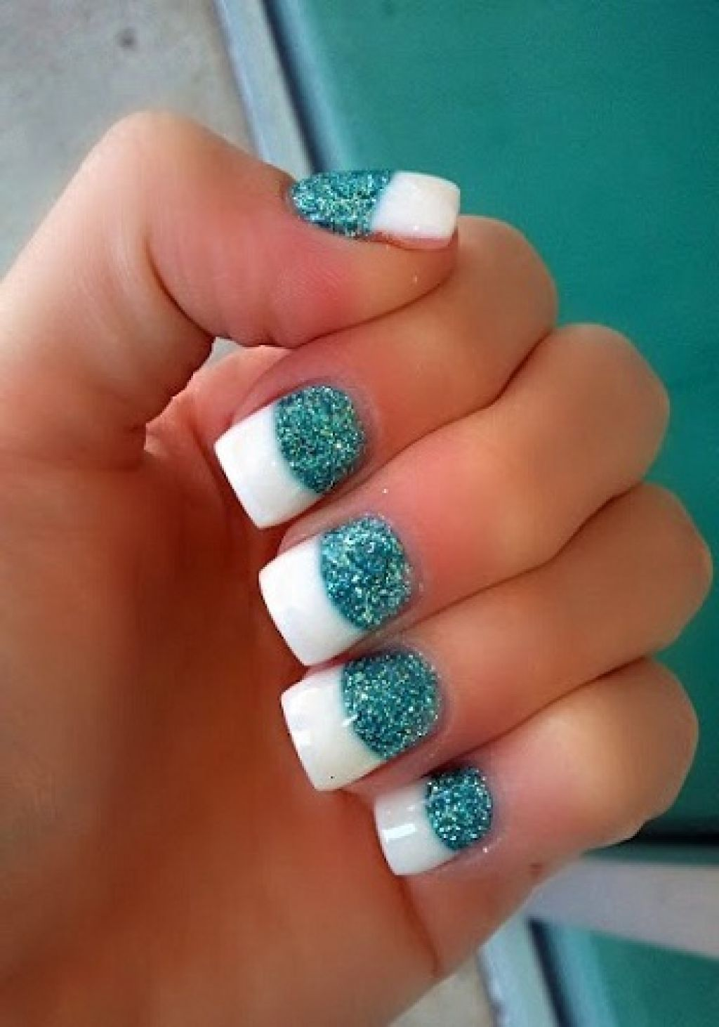 summer acrylic nails | Gallery of Cute Acrylic Nail ...
