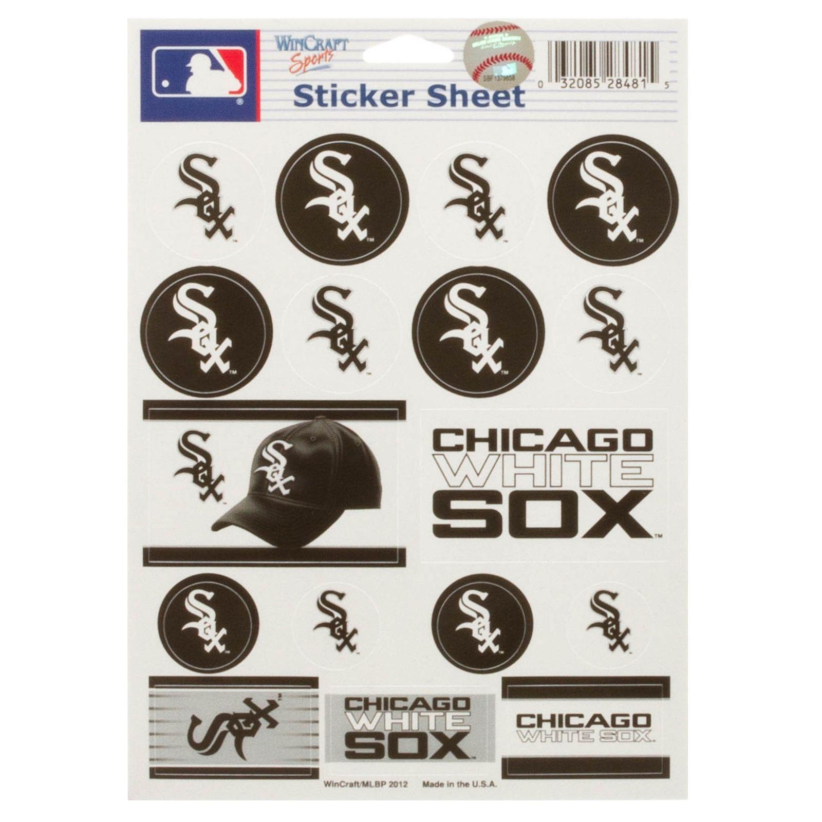 WinCraft MLB Vinyl Sticker Sheet