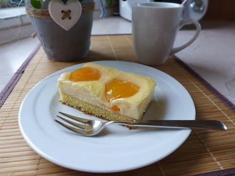 Thermomix Tm 5 31 Pudding Schmand Kuchen Vom Blech Mit Aprikosen