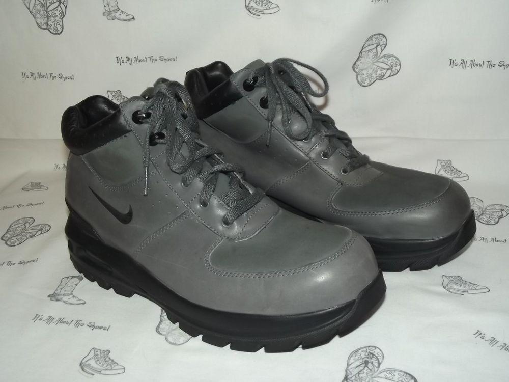 NIKE ACG Goaterra Gray Leather Hiking