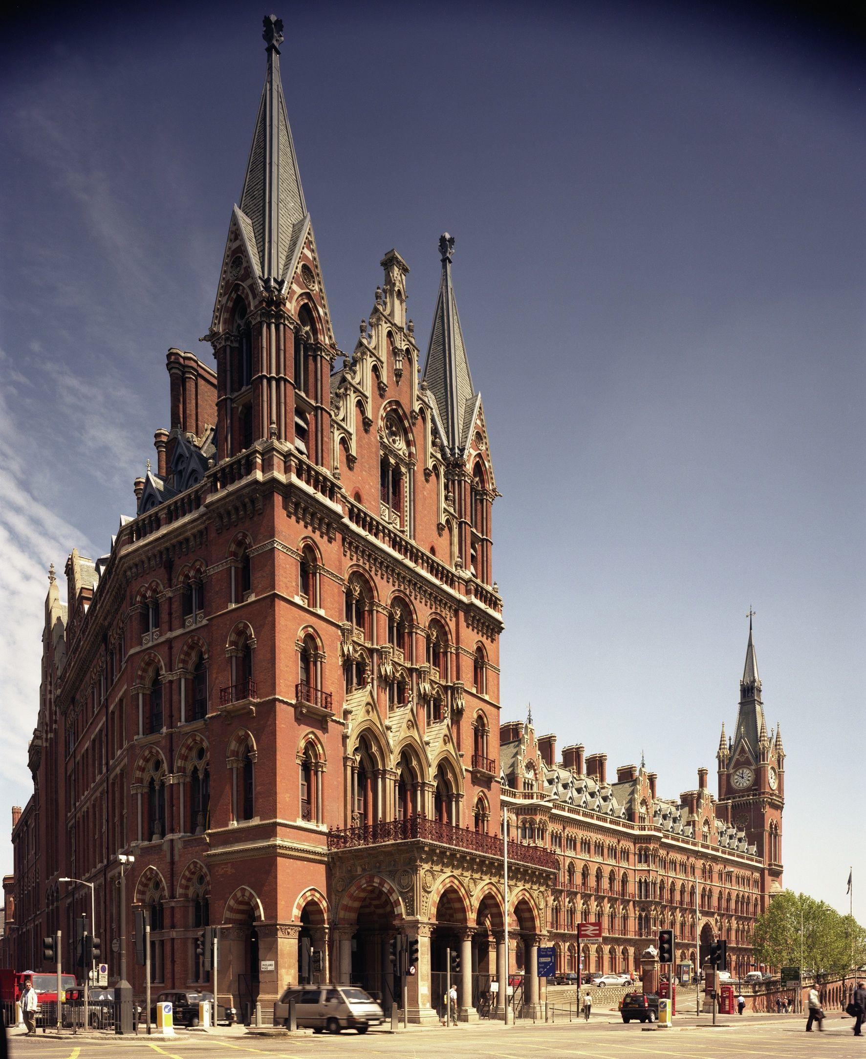 Strategic Acquisitions St Pancras Hotel Harry Potter Locations St Pancras