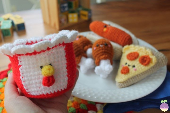 Free Crochet Food Patterns ⋆ Crochet Kingdom (70 free crochet ... | 480x720