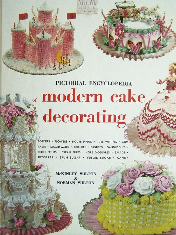 Wilton Cake Decorating Book Vintage Book How To by ...