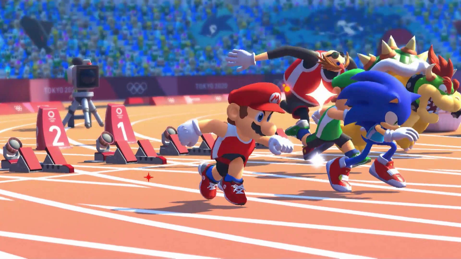 E3 2019 Mario and Sonic at the Tokyo 2020 Olympic Games é