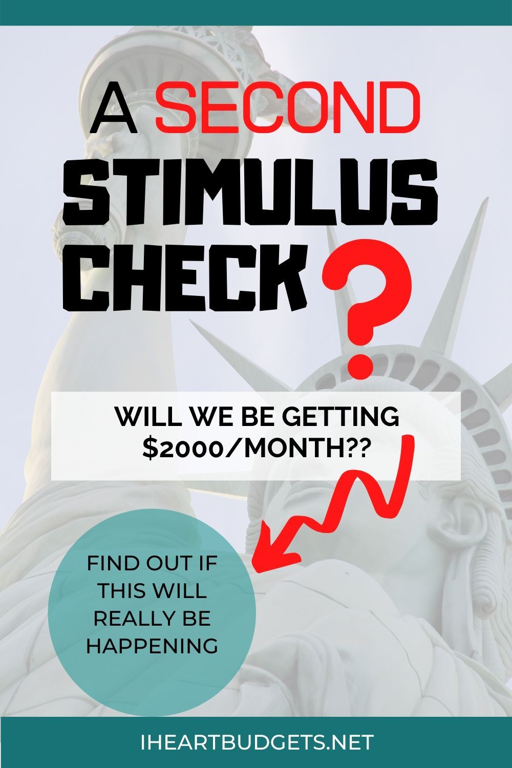 Confirmed 1200 second stimulus checks exact same as