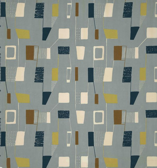 Mid Century Modern Fabrics By Textile Designer Lucienne Day
