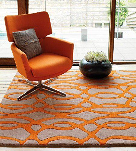 Pin Von ACCESSORIZE24 Auf Design | Pinterest | Orange Teppiche, Teppich  Günstig Und Teppich Wohnzimmer