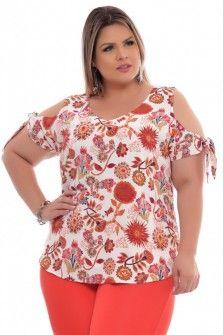 4ed5dcbaa46 Blusa Plus Size Ambrosio