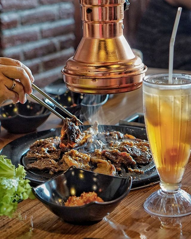 Nikmatin Korean BBQ yuk! Di charadabali kamu bisa