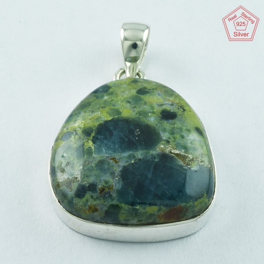 SIIPL _ APATITE STONE AMAZING bEAUTy 925 STERLING SILVER PENDANT P5068 #SilvexImagesIndiaPvtLtd #Pendant