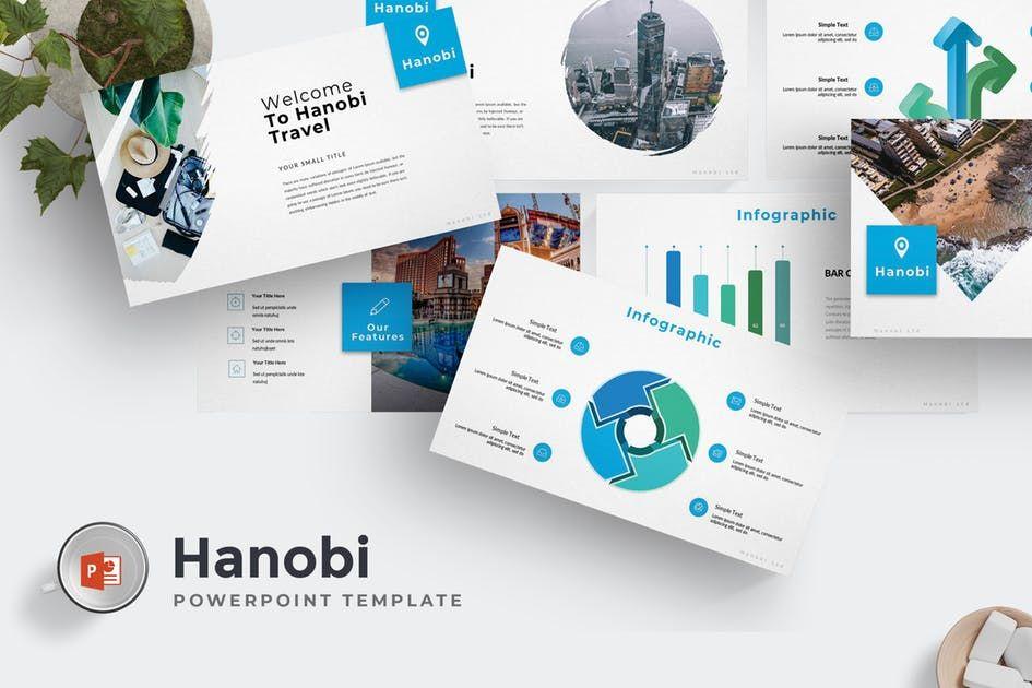 Hanobi Powerpoint Template By Aqrstudio On Envato Elements In 2020 Business Powerpoint Templates Powerpoint Templates Powerpoint Presentation Design