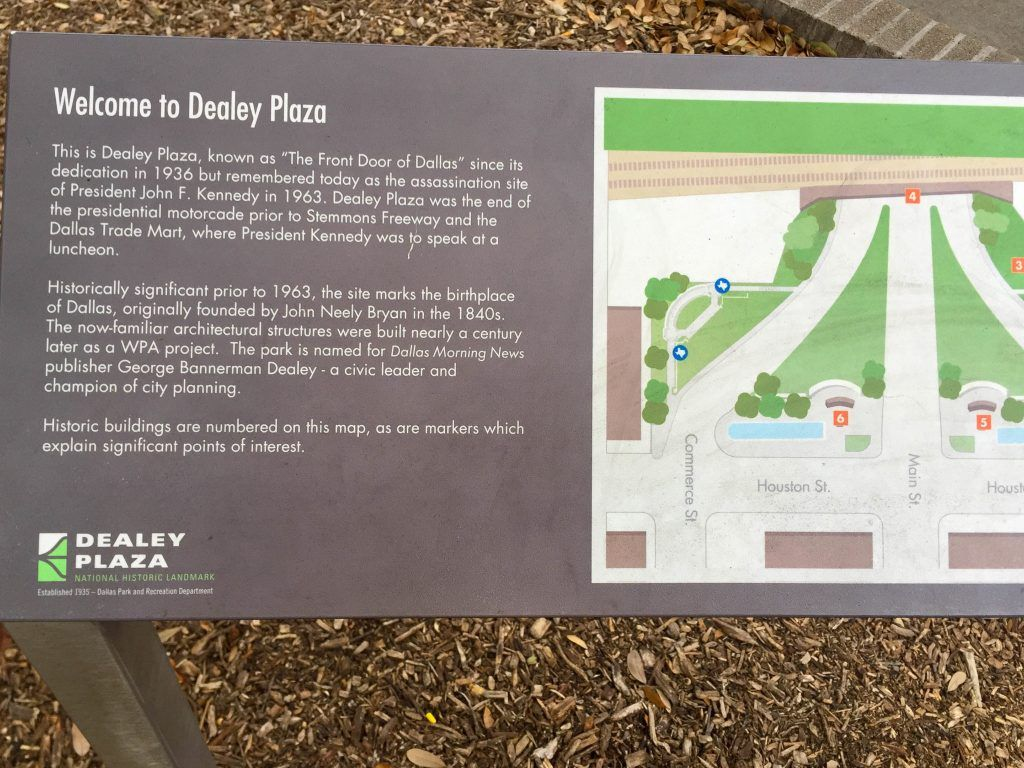 Learning more about Dealey Plaza in Dallas, TX