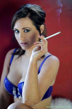 Hairy women smoking