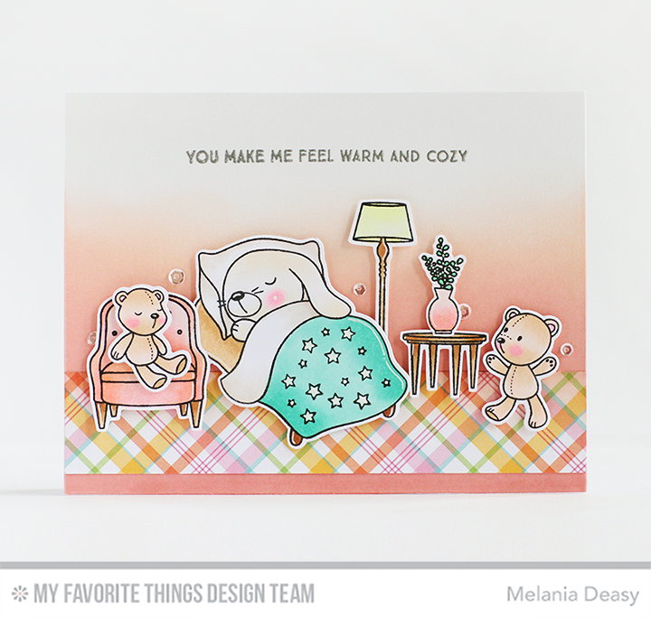 Somebunny I Love Stamp Set and Die-namics, Make Yourself at Home Stamp Set and Die-namics - Melania Deasy  #mftstamps