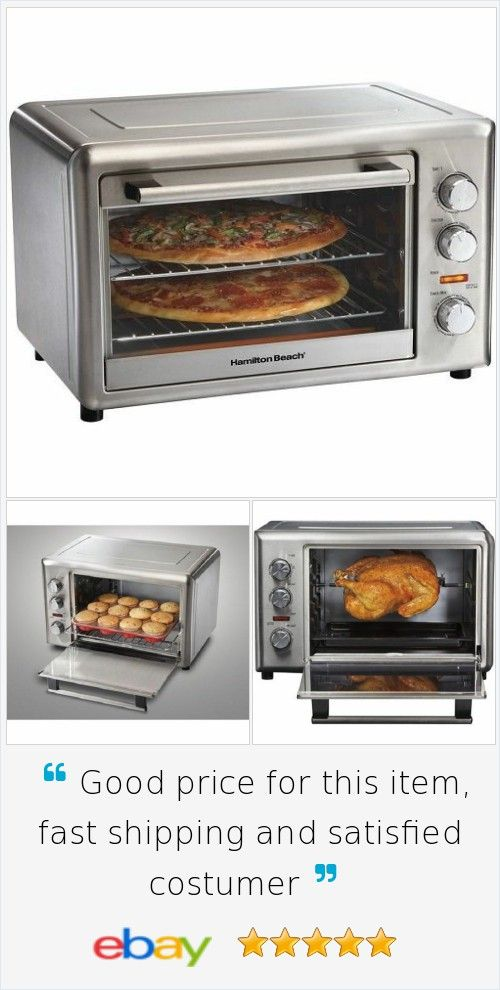 #Kitchen Countertop #Oven Large Capacity Convection #Toaster Steel Rotisserie Bake