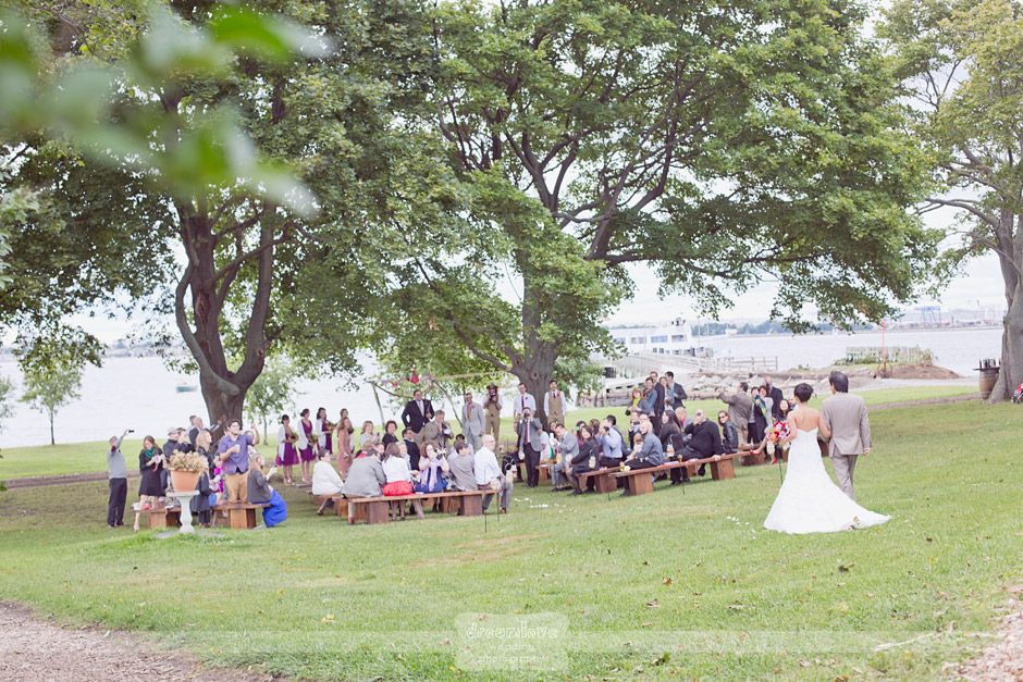 This Is The Most Unique Outdoor Wedding Venue In MA Thompson Island Outward