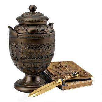 Decorative Urns With Lids Mesmerizing Divine Cult Of Sacred Apis Egyptian Presentation Urnour Replica Inspiration