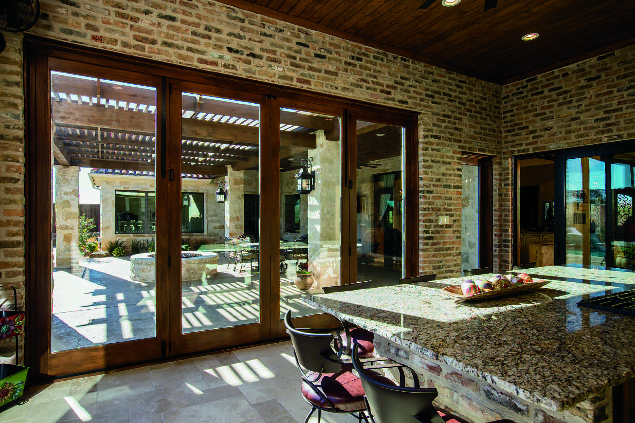 Bring outdoor living inside with Pella Architect Series bifold