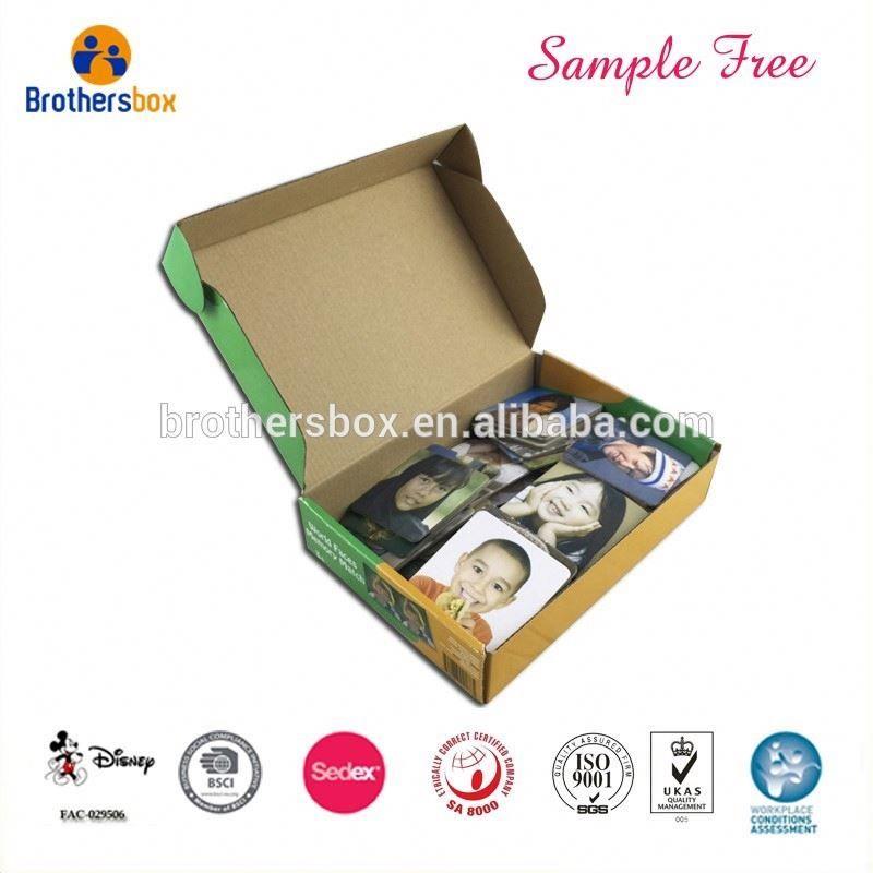 Custom design blank board game boxes oem paper memory card