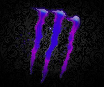 Monster Energy Drink Wallpaper Logos Monster Energy 1440x900 Wallpaper High Quality Wallpapers Monster Energy Monster Energy Drink Logo Purple Aesthetic