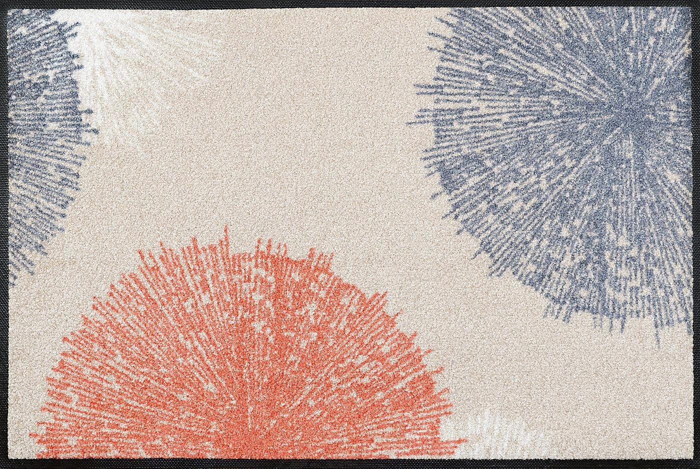Fussmatte Wash Dry By Kleen Tex Firework Beige Rutschhemmend Beschichtet Online Kaufen Otto Fussmatte Beige Wissenswertes