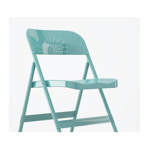 Remarkable Frode Folding Chair Turquoise Ikea Chic Kitchens Ikea Squirreltailoven Fun Painted Chair Ideas Images Squirreltailovenorg