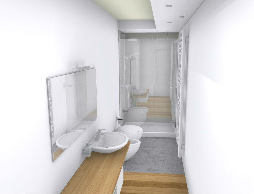 Siete alle prese con la ristrutturazione di un bagno lungo e stretto non disperate ecco come - Progetto bagno lungo e stretto ...