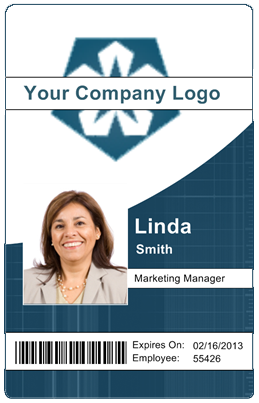 Badge Id Design Template Qureshi Design On Amna Pin By Card Employee