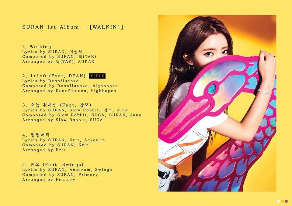 Updated June 1 Kst Suran Has Shared A Quick Listen To Each Of The