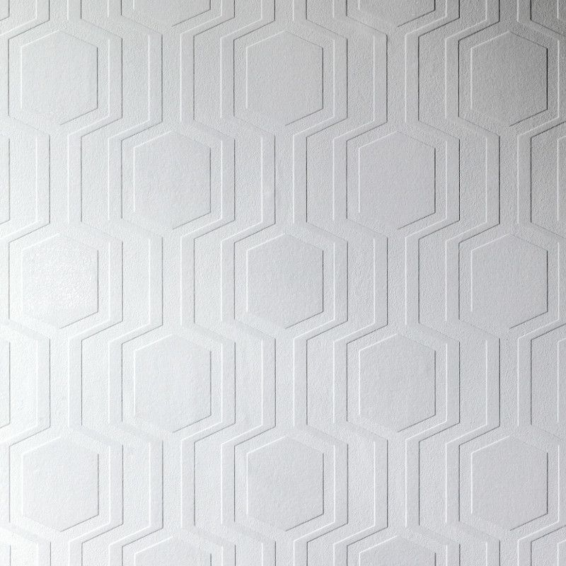 Anaglypta Luxury Textured Vinyl Wallpaper Geo An Exciting Geometric Design And A Great Way To Give