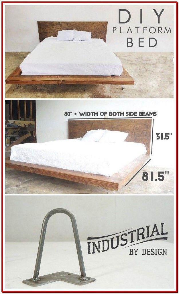 Best Easy Diy Bedroom Decor Diy Modern Bed Diy Platform Bed 400 x 300