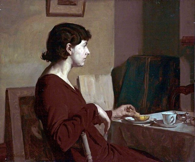 Stanley Reed - Meditation, the artist's sister-in-law, l933