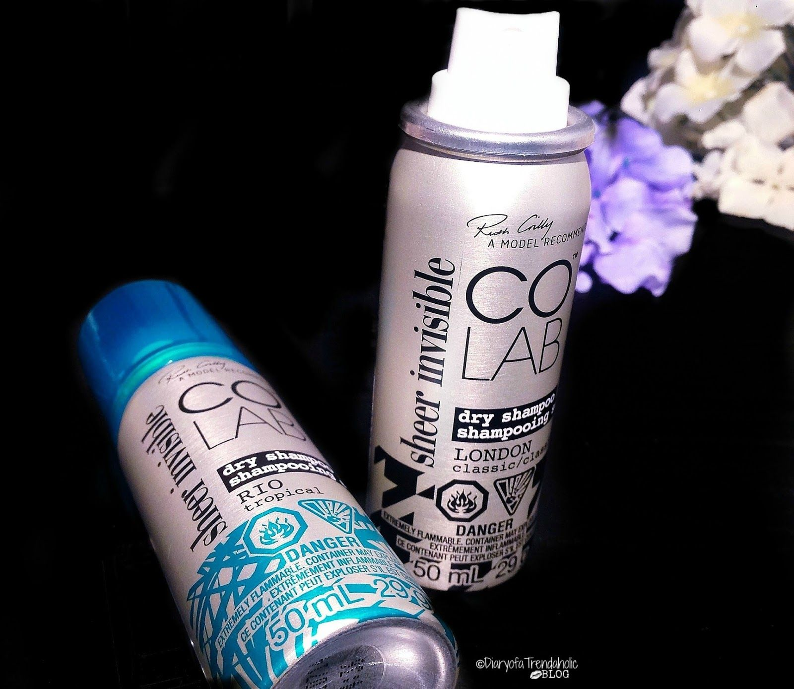 colabhair Sheer Invisible Dry Shampoo (London& Rio