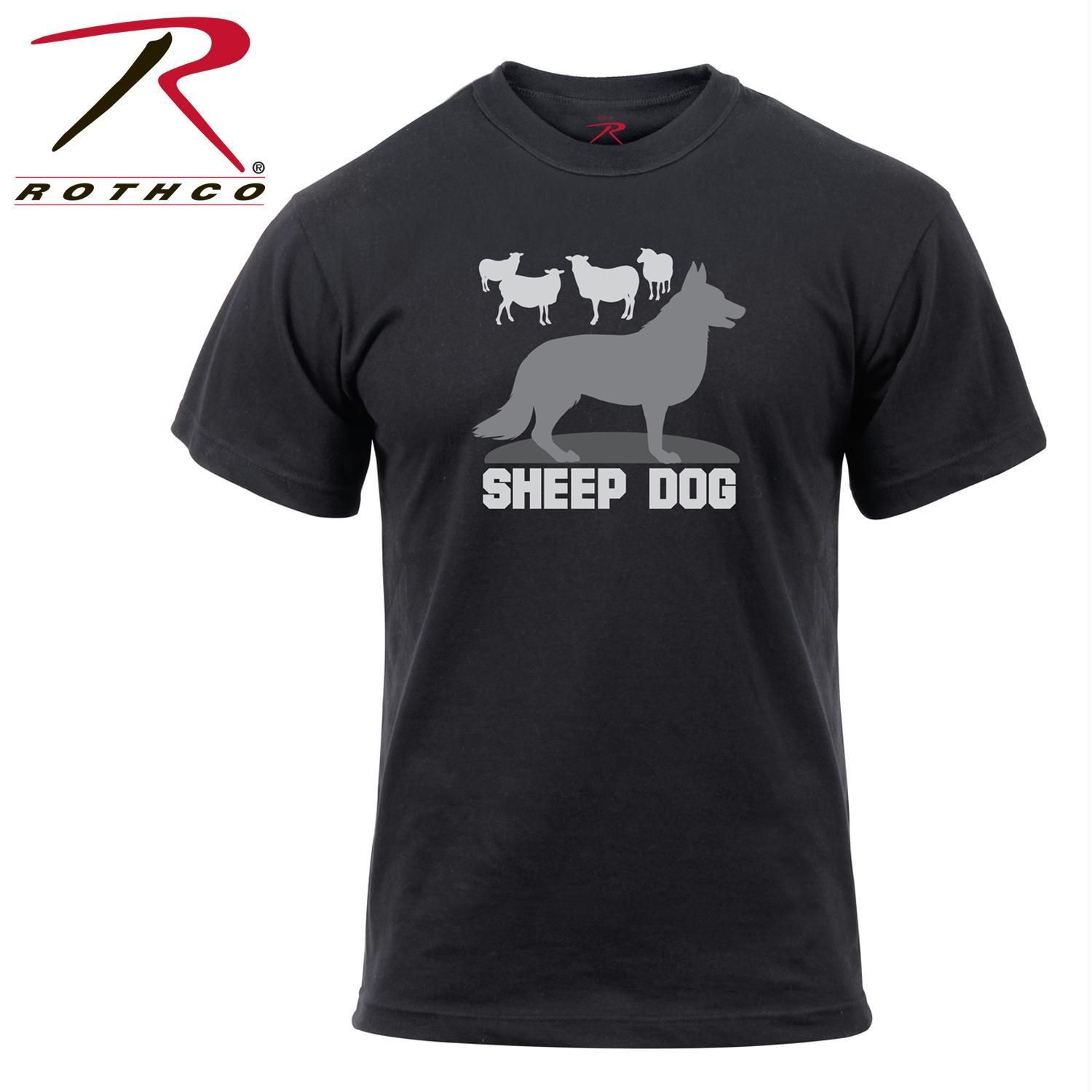 Rothco Sheep Dog T-Shirt  738ec834511