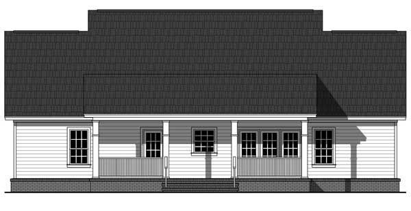 Traditional Style House Plan with 3 Bed 3 Bath