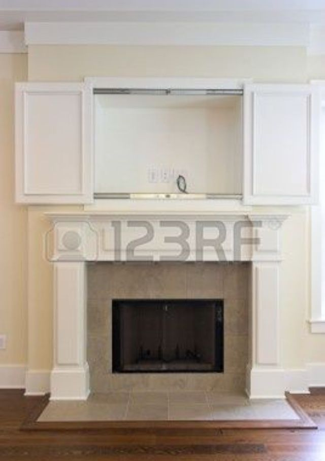 Storage Above Fireplace Home Fireplace Home Tv Wall Cabinets