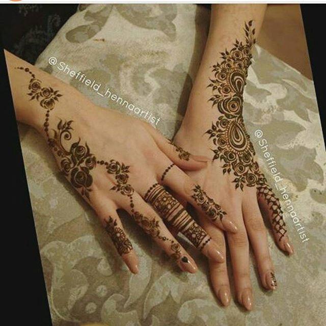 حناء العيد شرايكم حناء حنه حنا نقش نقشات نقشه نقش حنا نقشات حناء نقش حناء الح Henna Tattoo Hand Simple Henna Tattoo Henna Designs Hand