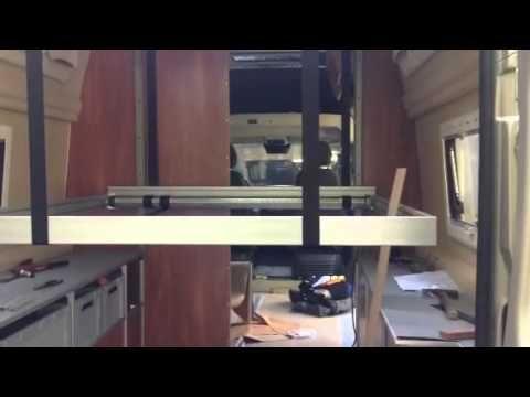 Hubbett Ducato Youtube Bed Lifts Van Home Camper Beds