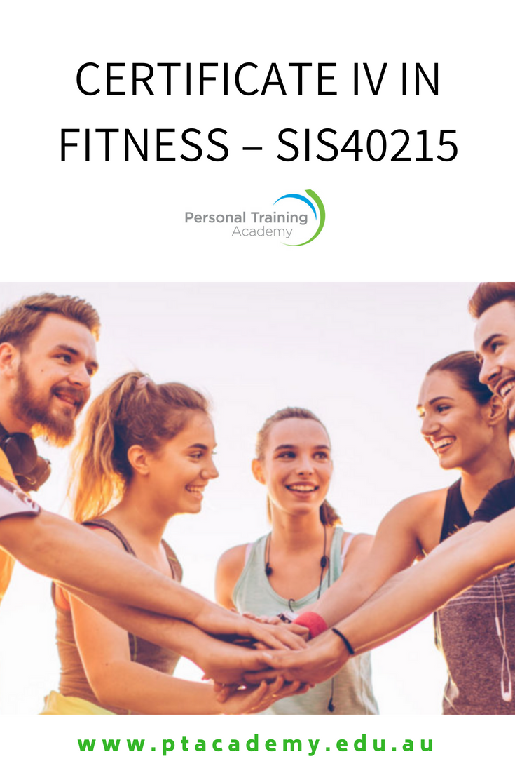 Get Your Certificate 4 In Fitness In Melbourne And Sydney And Other
