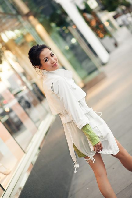 White Silk :: Summer jacket