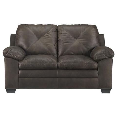 Frostine Living Room Set Faux Leather Sofa Furniture Value City Furniture