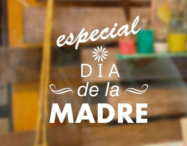 Decoraci n escaparates tiendas para el d a de la madre - Decoracion dia de la madre ...
