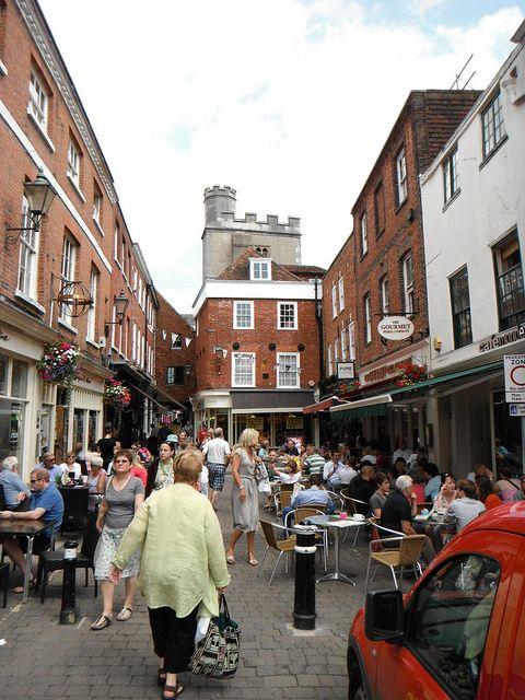 Market Winchester, UK
