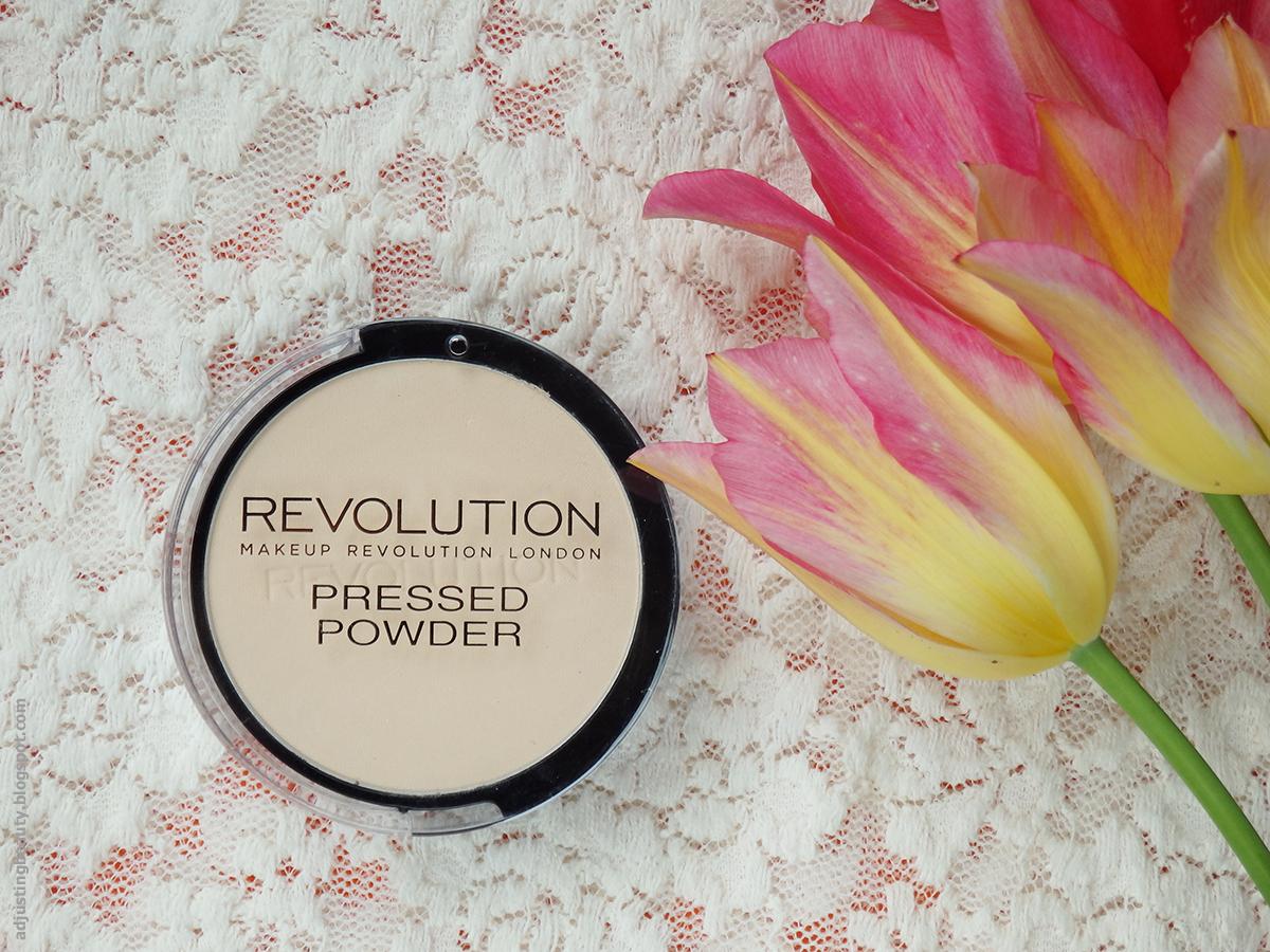 Review Makeup Revolution Pressed Powder (Translucent