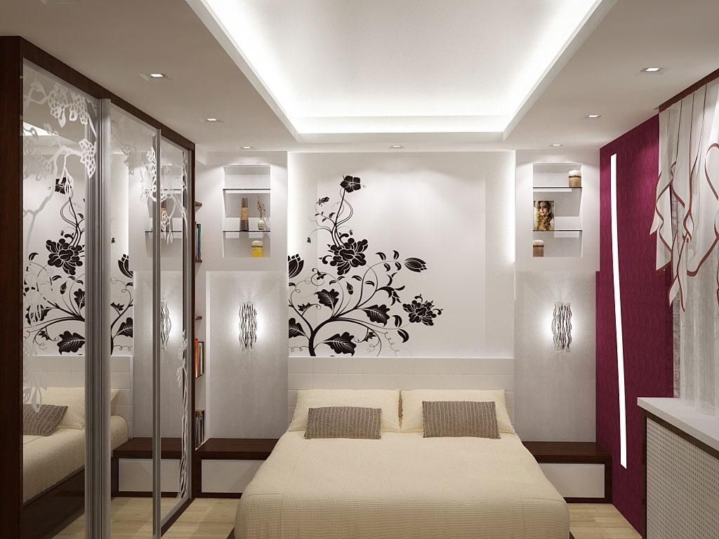 Bedrooms With Closets Ideas Painting creative wall painting ideas for bedroom | bedroom furniture