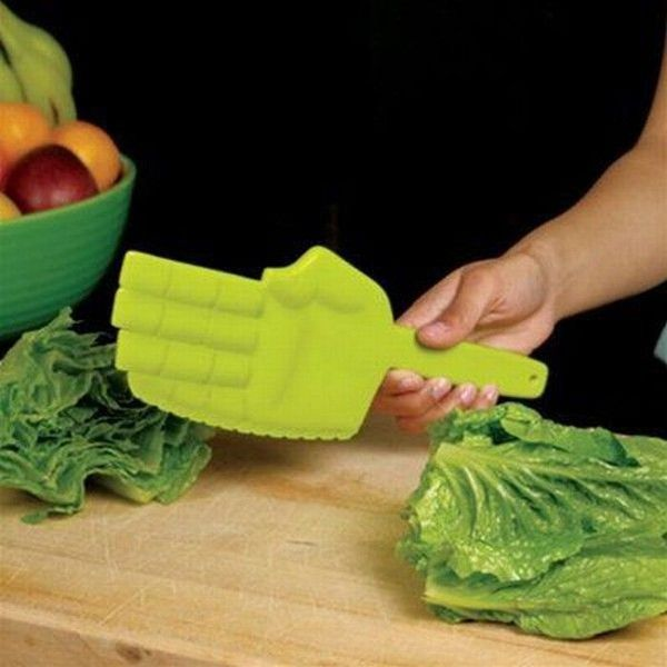 #Karate chopping your lettuce makes cooking & eating healthy foods fun for kids!