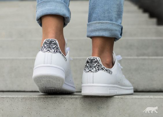 Chaussure Farm Company x Adidas Stan Smith femme Floral Mosaic (1)