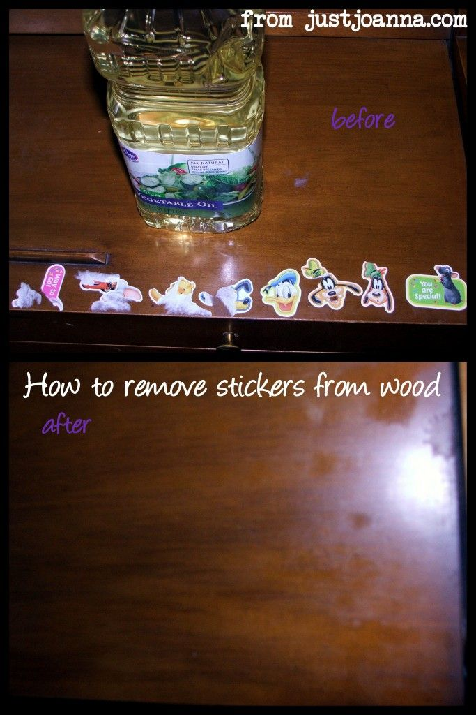 How to Remove Stickers from Wood Without Scratches. How to Remove Stickers from Wood Without Scratches   Remove