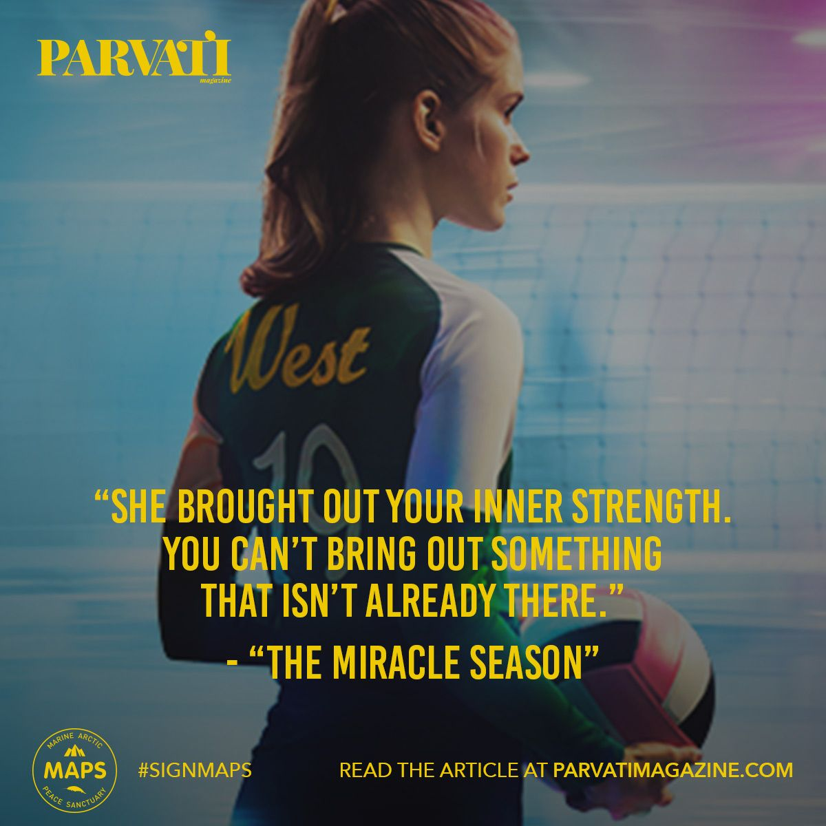 Based On A True Story The Miracle Season Tells Us About How A Community In The Face Of Tragedy Eme The Miracle Season Volleyball Inspiration Sports Quotes