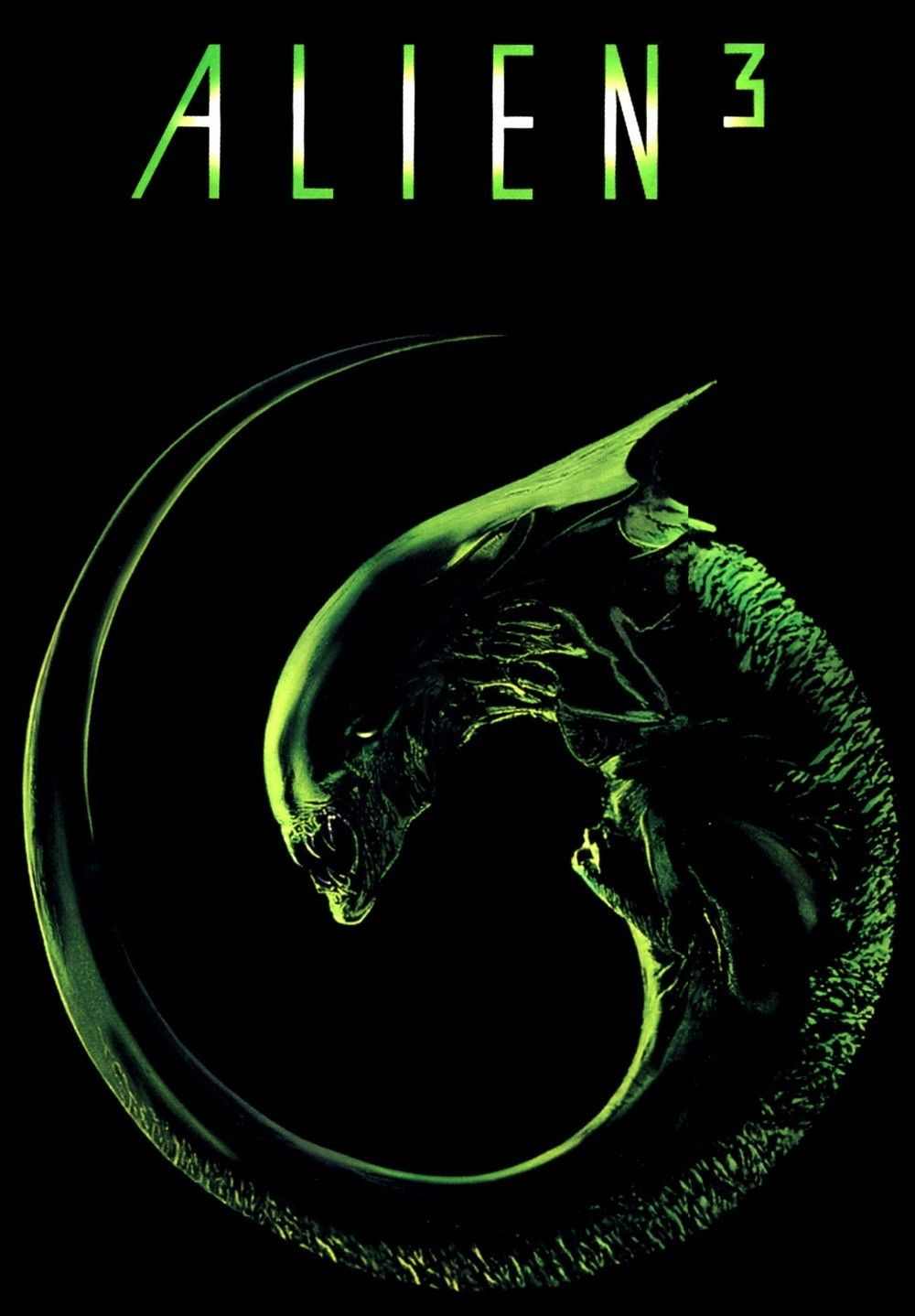 Alien 3 1992 Movie Review Aliens Movie Horror Movie Posters Movie Posters